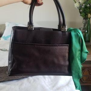 Vintage Fossil American brown Leather handbag